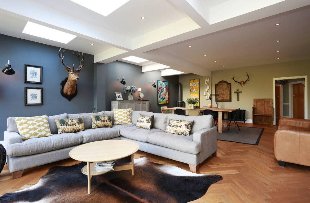 Угловые диваны в гостиную (87 фото): выбираем большие диваны для зала, размеры мягких уголков, элитная мебель в дизайне интерьера современной гостиной