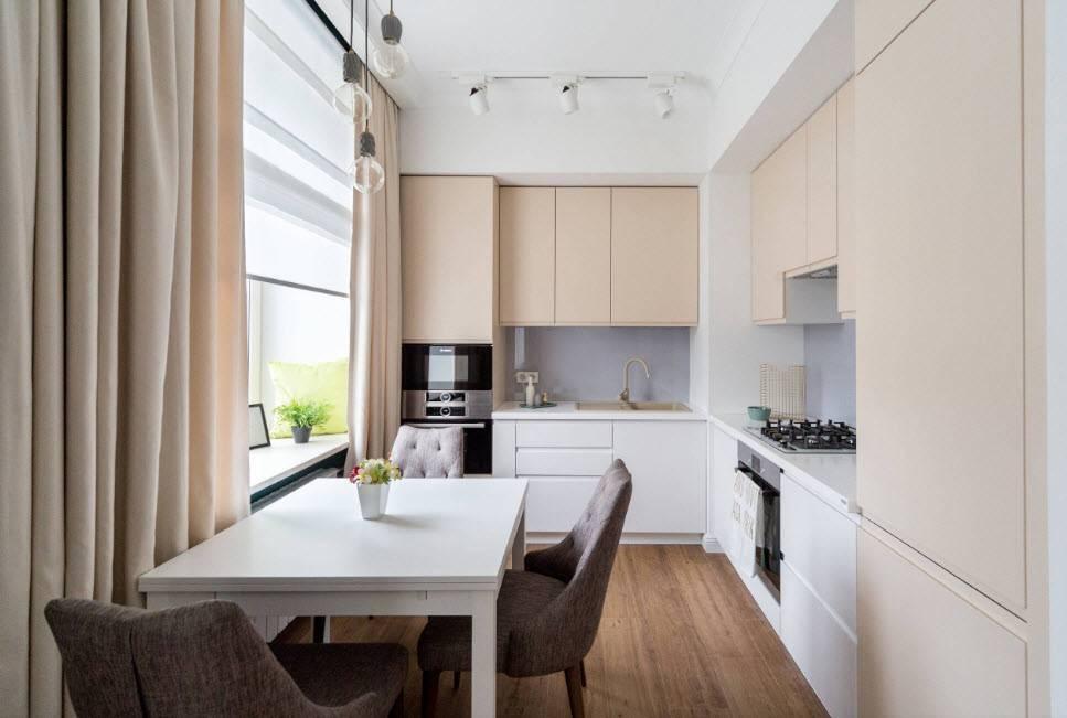 Дизайн маленькой кухни 2021: креативные идеи по преображению небольшого пространства (фото)