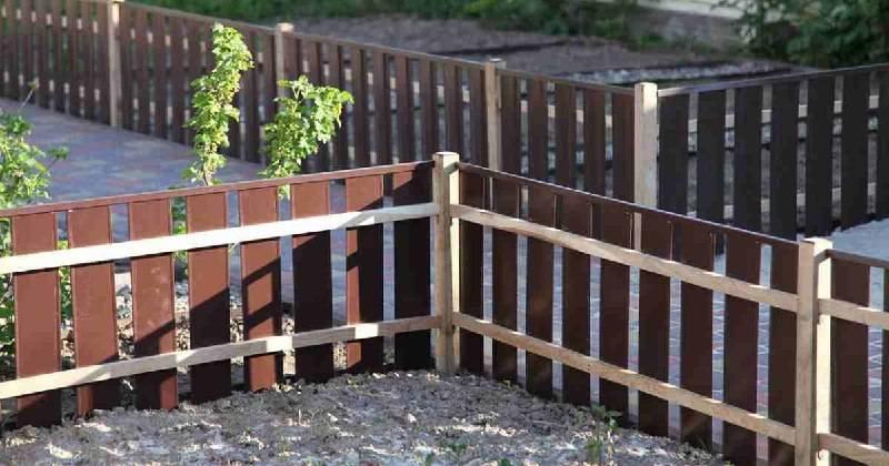 Самый дешевый забор для дачи своими руками
