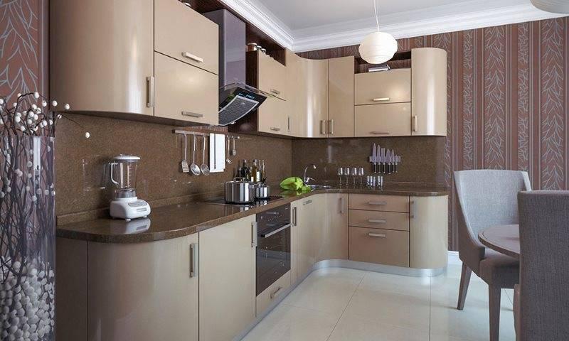 Глянцевые кухни — 75 фото примеров дизайна кухни с глянцевыми фасадами