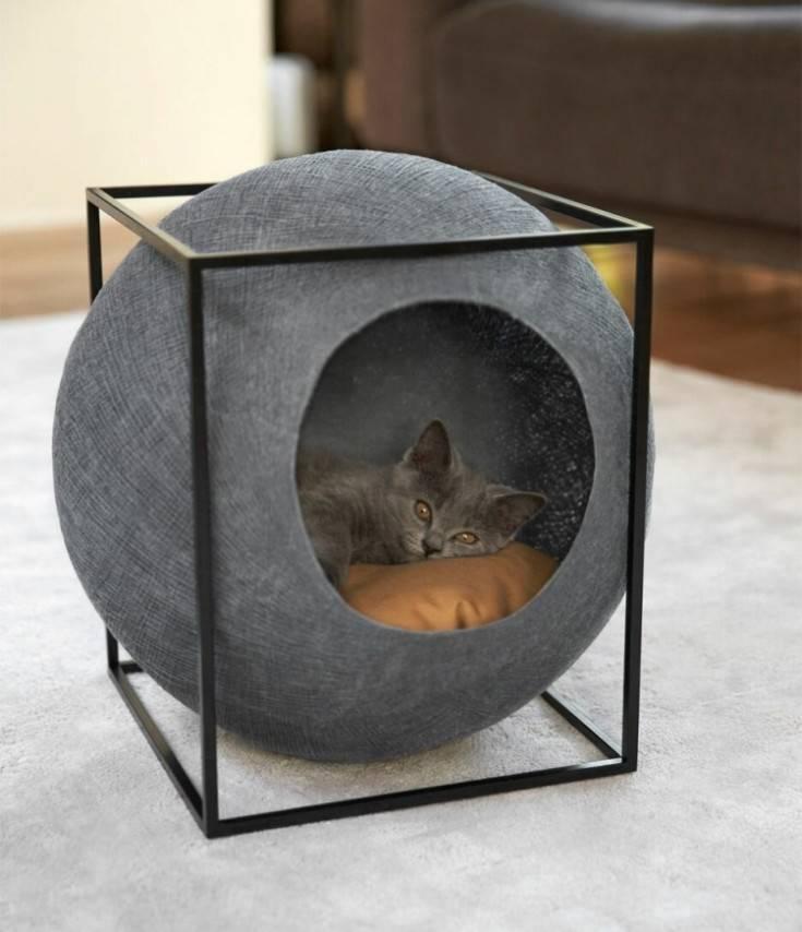 Домик для кошки своими руками - 155 фото лучших способов и видео описание как сделать кошачий домик