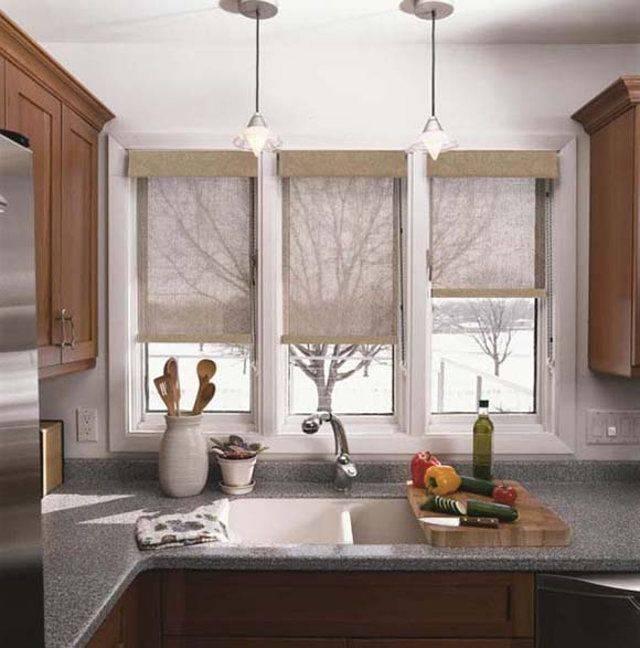 Современный декор кухонного окна- тонкости
