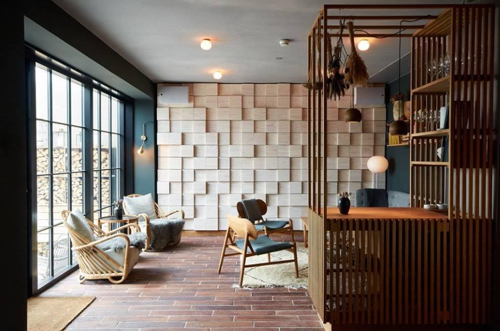Кухня-гостиная в скандинавском стиле: 41 фото в интерьере