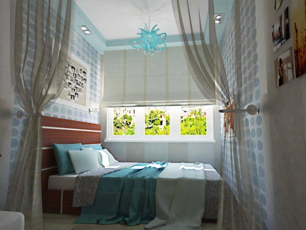 Дизайн узкой комнаты с окном в конце - полная информация