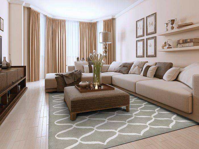 Как выбрать ковер на пол для гостиной: 5 полезных рекомендаций