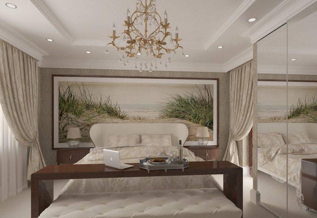 Дизайн спальни-кабинета (140 фото) - оригинальные идеи оформления интерьера