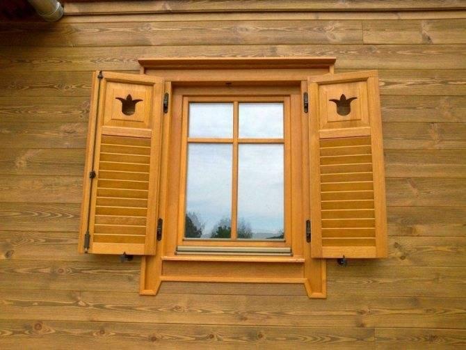 Ставни на окна: основные виды и варианты изготовления своими руками (65 фото)