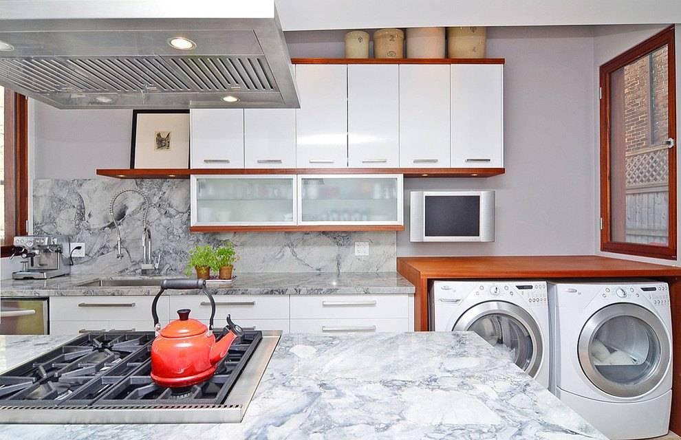 Проект кухни с расстановкой мебели: как правильно расставить