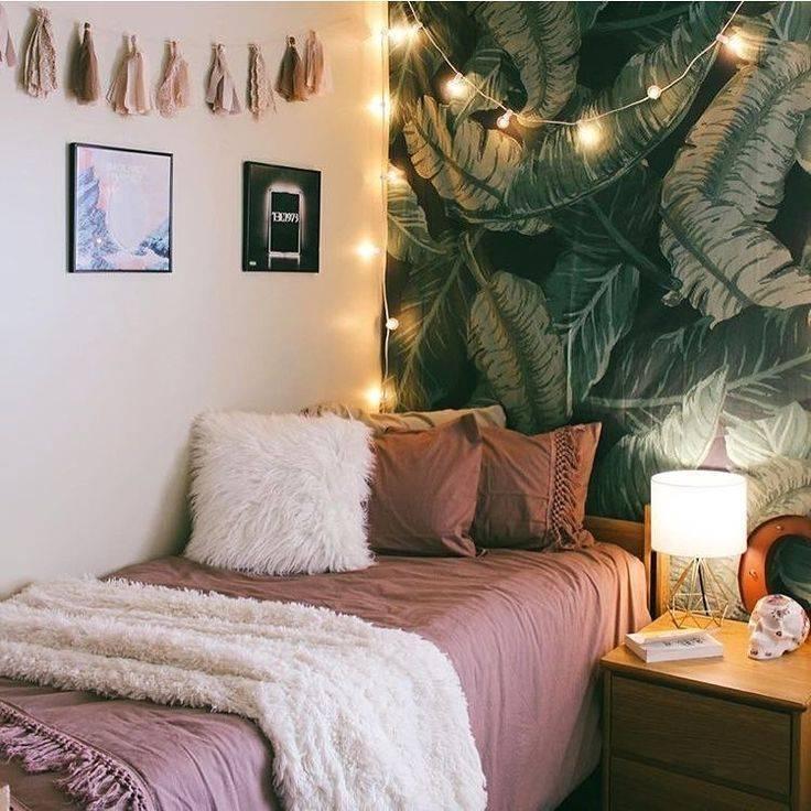 Декор спальни — красивые идеи, интересные детали и яркие украшения спальни в различных стилях (80 фото)