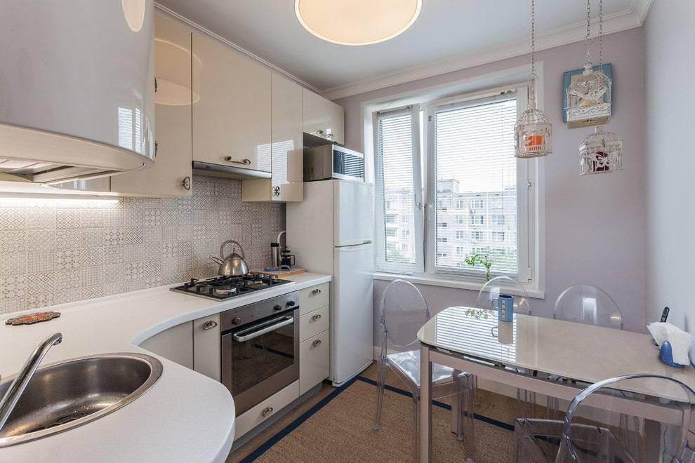 Кухня в хрущевке - 125 фото лучших идей оформления интерьера маленькой кухни