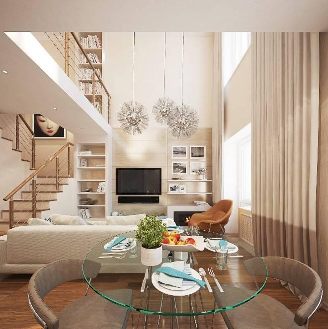 Двухуровневые квартиры – особенности планировки, дизайна и варианты ремонта своими руками (105 фото)