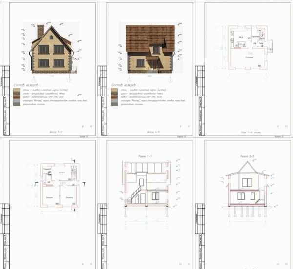Эскизный проект дома / архитектор дмитрий новиков