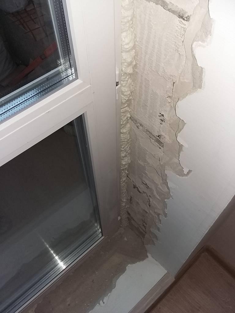 Как сделать отделку откосов окон внутри
