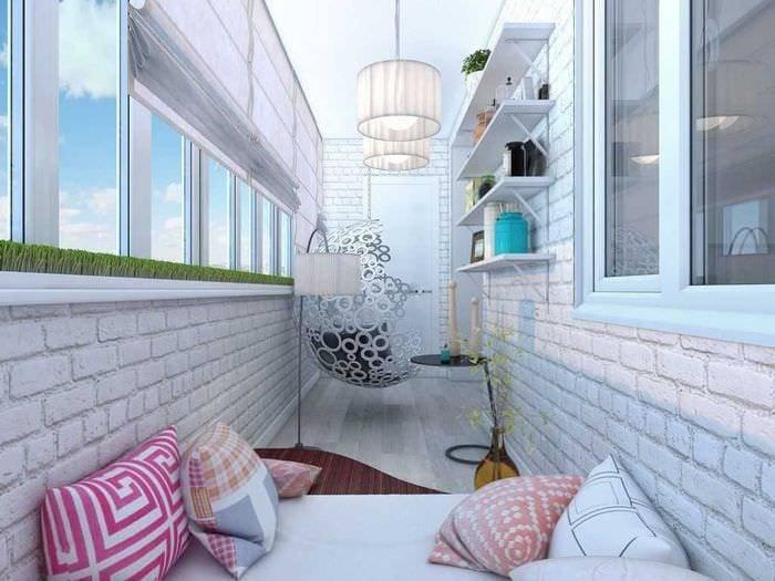 Балкон 8 кв. м.: 75 фото современных решений по оформлению балкона