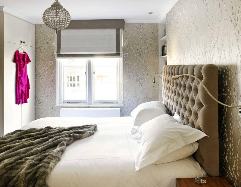 Дизайн спальни 9 кв.м. - 85 фото интерьеров после ремонта, красивые идеи