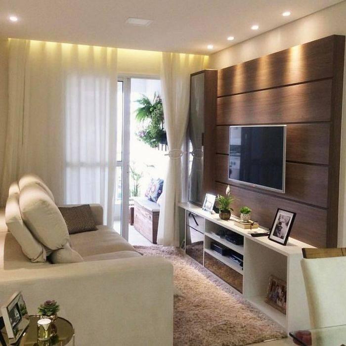 Интерьер маленькой гостиной: современные идеи дизайна
