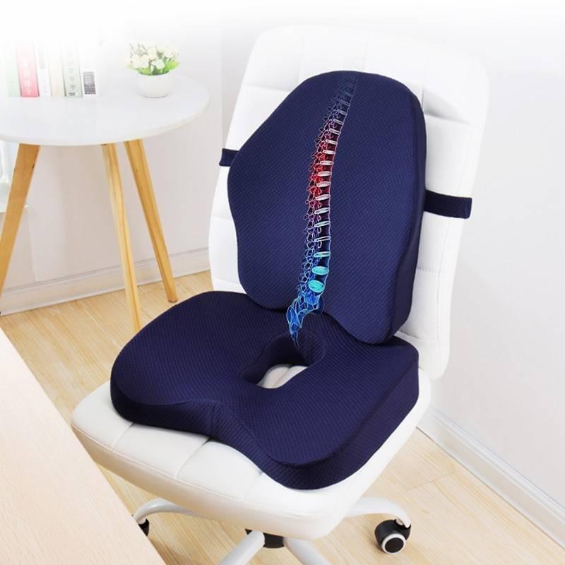 Подушка ортопедическая для сидения на стул: выбираем грамотно