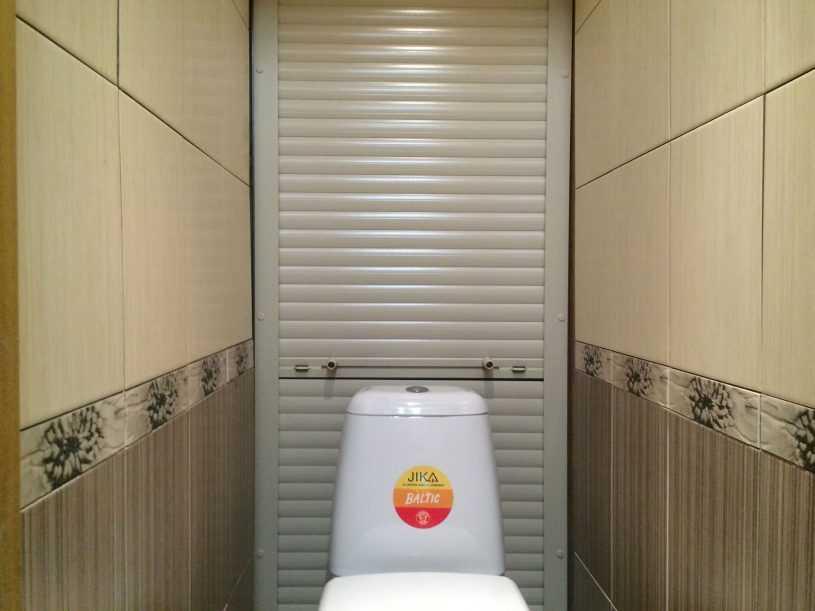 Как спрятать трубу в туалете: способы с использованием гипсокартона, кафельной плитки и рольставней, фото