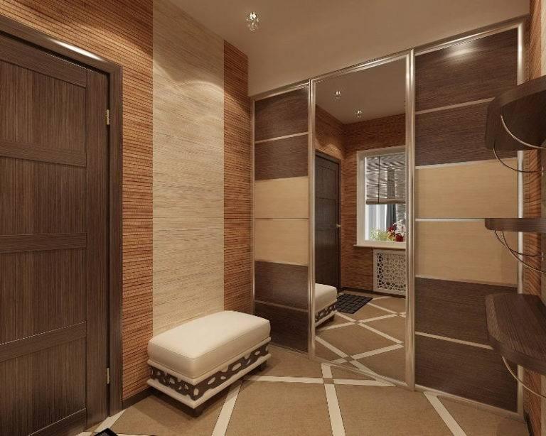 Специальный дизайн для узкого коридора