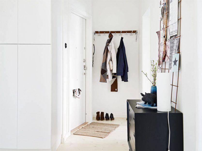 Прихожая в скандинавском стиле — оригинальность и практичность в интерьере