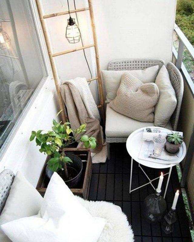 Современный балкон - 99 фото лучших дизайнерских решений