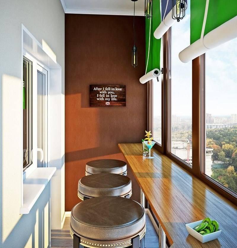 Балкон в хрущевке – планируем удобный дизайн для маленького балкона (75 фото)