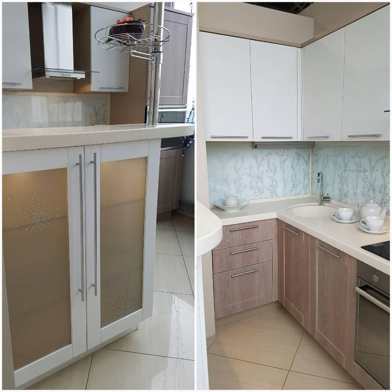 Кухня в п 44 (42 фото) – советы по планировке и оформлению