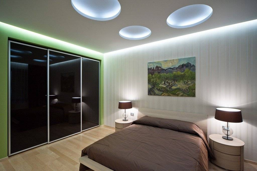 Тонкости организации освещения в спальне