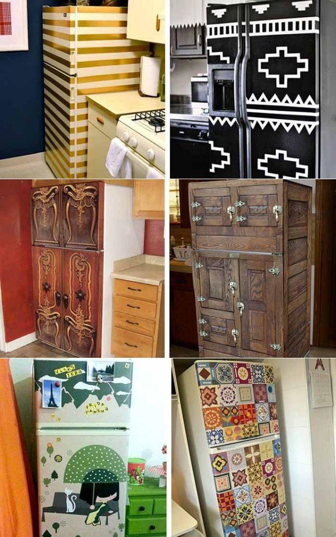 Декор холодильника 70 фото идей дизайна своими руками - telelander.ru