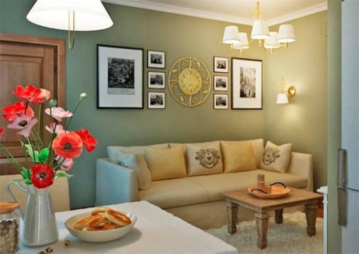 Выбор картин для современной гостиной