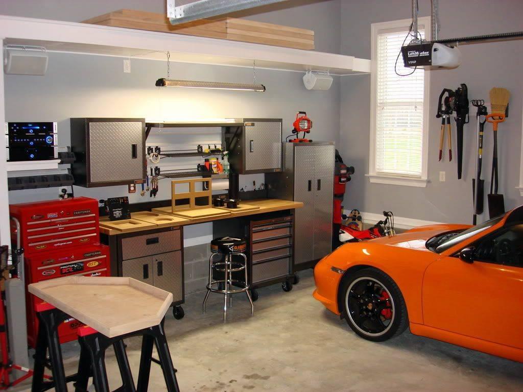 Идеи дизайна гаража +75 фото интерьера - home-secret.ru