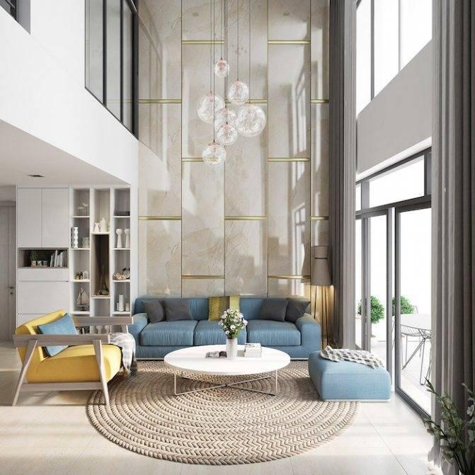 Современный интерьер квартиры — 30 примеров дизайна