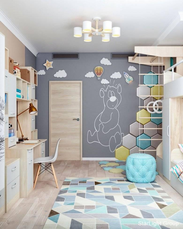 Детская для ребенка от 1 года до 3 лет: 35 фото-идей и гид по дизайну