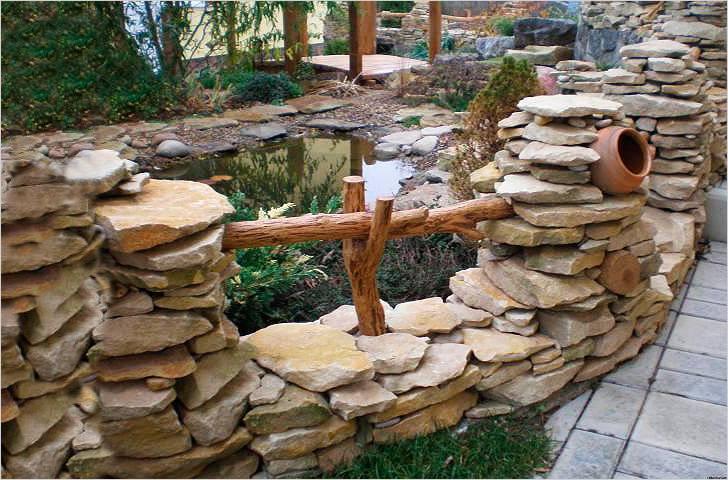 Забор из камня – плюсы и минусы, каких правил дизайна следует придерживаться
