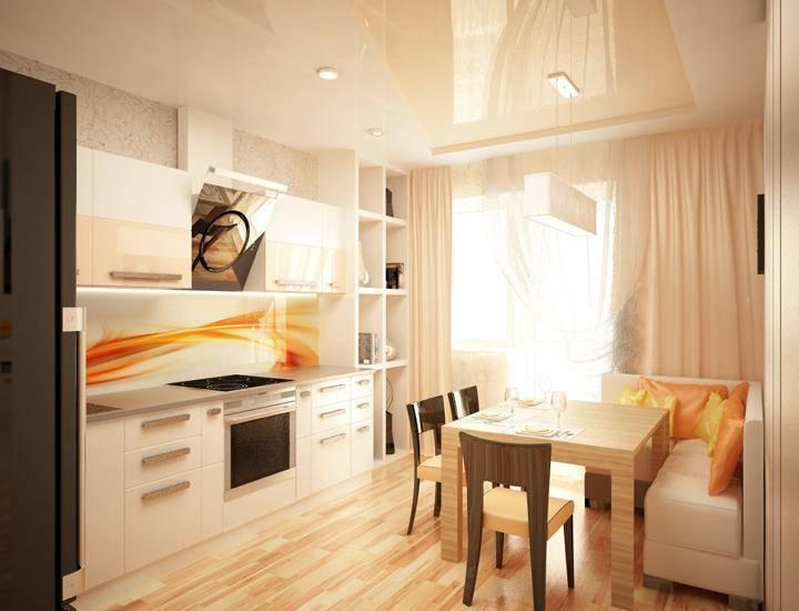 Дизайн кухни 13 кв. м с диваном (48 фото): варианты планировки кухни площадью 13 квадратных метров, примеры интерьера