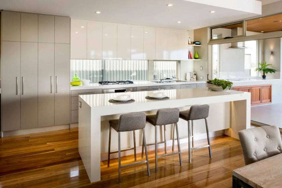 Дизайн кухни 14 кв.м. - 75 фото интерьеров после ремонта, красивые идеи