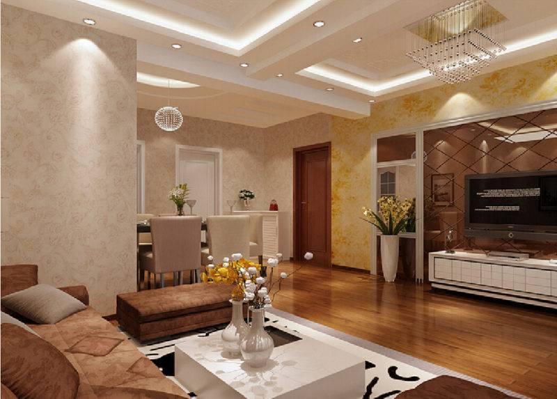 Потолок в гостиной: особенности выбора дизайна для фотопечати на потолках