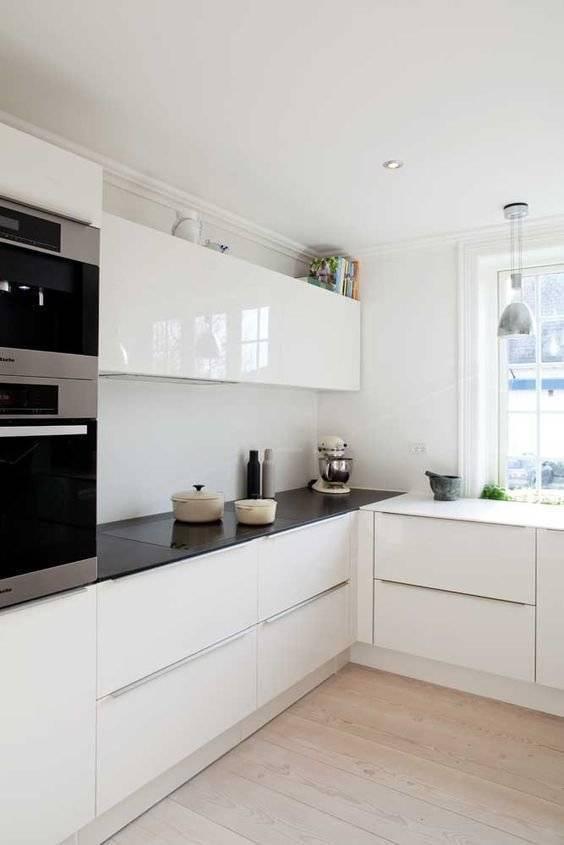 Белая кухня в интерьере – беспроигрышный вариант оформления любого пространства
