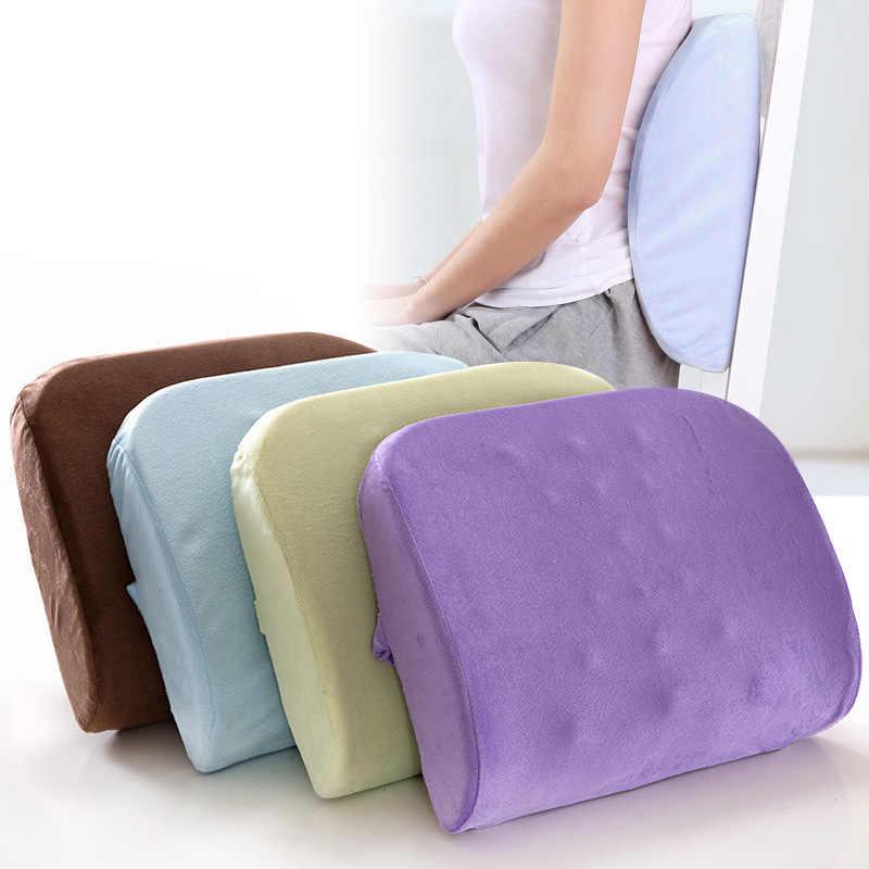 Ортопедическая подушка на стул в офис: разновидности, польза для позвоночника, принцип действия