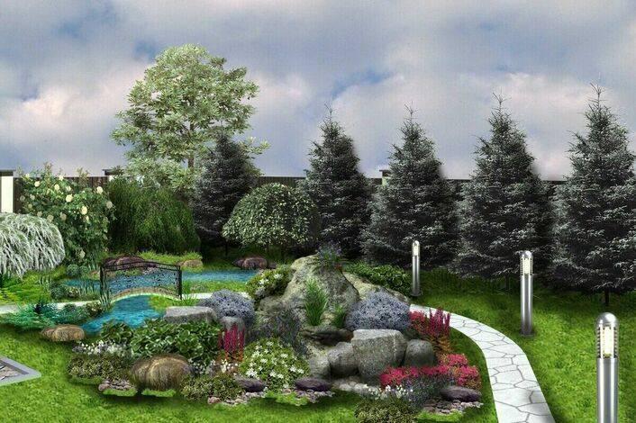 Ландшафтный дизайн: оригинальные идеи оформления участка