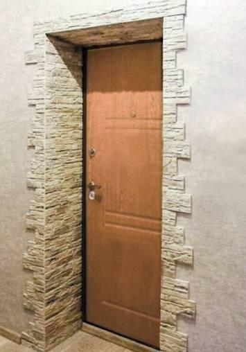 Отделка дверных проемов декоративным камнем - как отделать дверные проемы декоративным камнем   стройсоветы