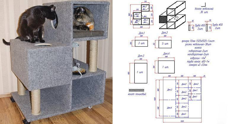 Лежанка для кошки своими руками: выкройки, лекала, пошив и советы как и из чего сделать лежанку (85 фото-идей)