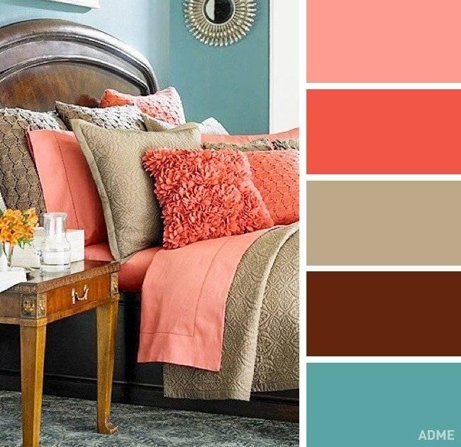 Коричневый цвет в интерьере - 85 фото примеров