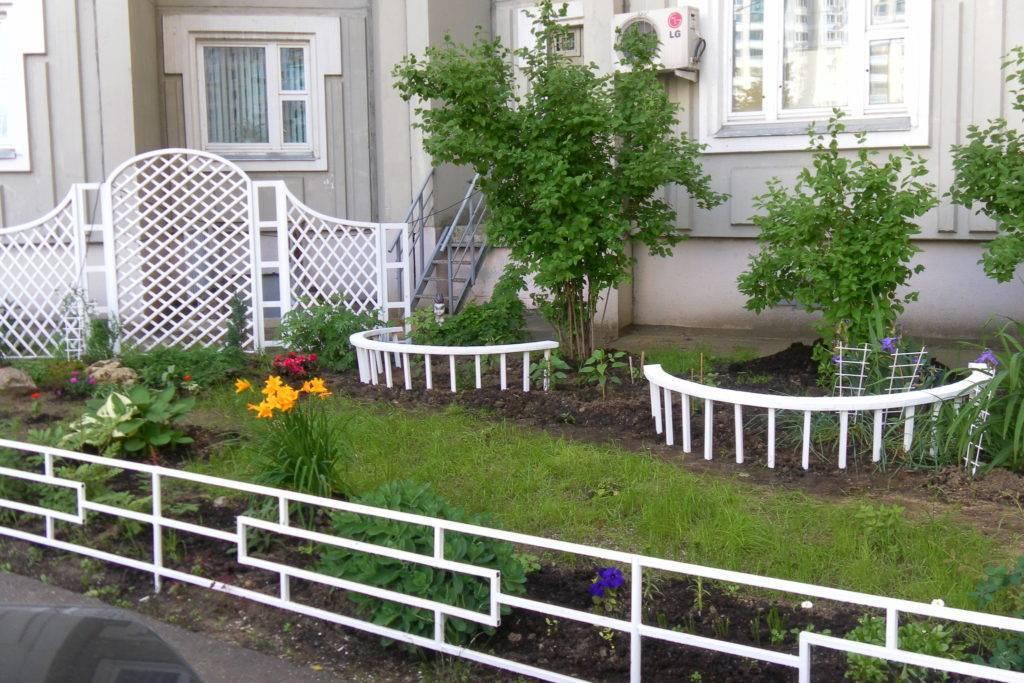 Декоративный забор своими руками для дачи и сада