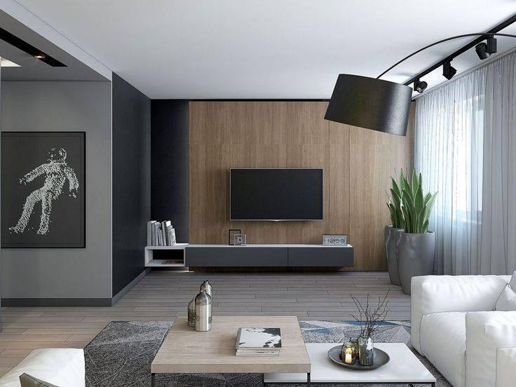 Стена с телевизором – дизайн современной гостиной | интерьерные штучки