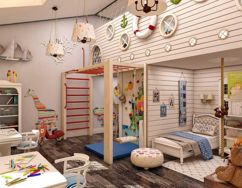 Маленькая детская комната - примеры удачных интерьеров (40 фото)