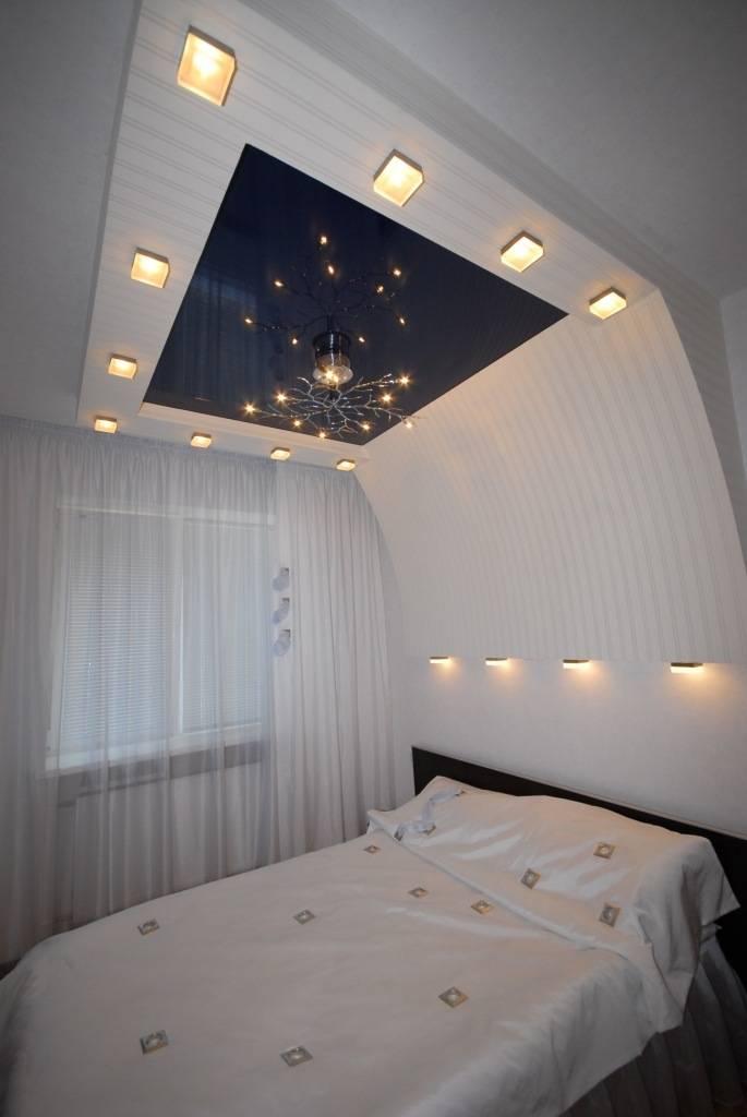 Как делать двухуровневые потолки из гипсокартона с подсветкой