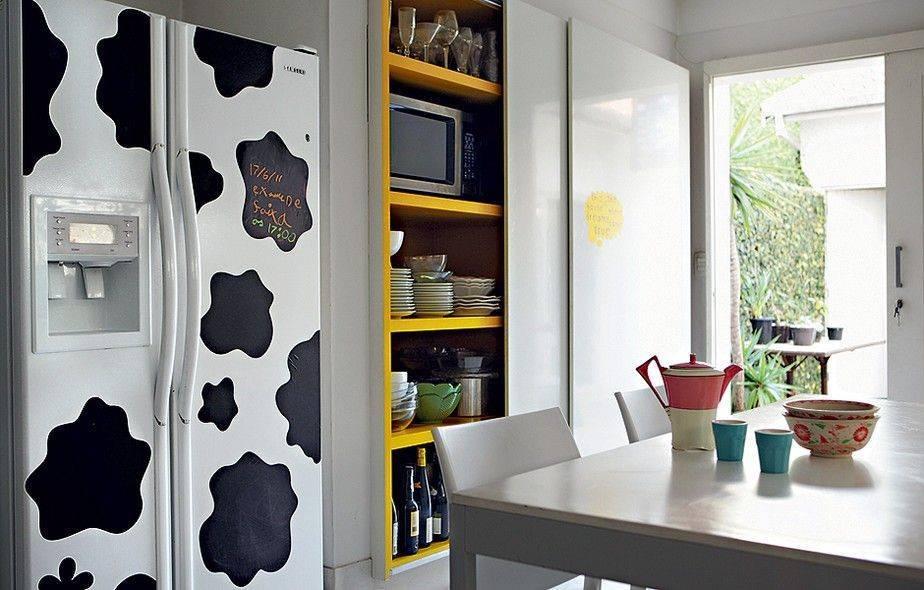 Декор холодильника +70 фото идей дизайна своими руками
