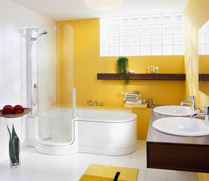 Дизайн ванной комнаты золотого цвета: 120 фото вариантов стильного оформления и особенности идеального сочетания