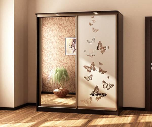 Как украсить шкаф своими руками: различные идеи декора с фото.